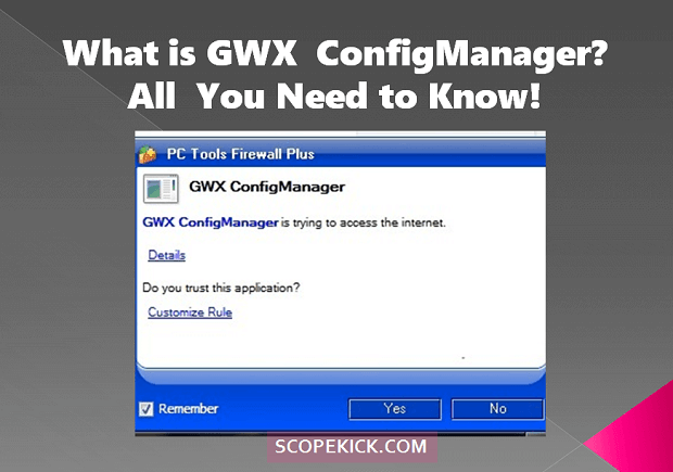 GWX config manager, what is it?