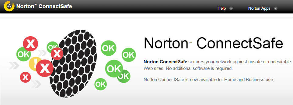 Norton ConnectSafe DNS Servers