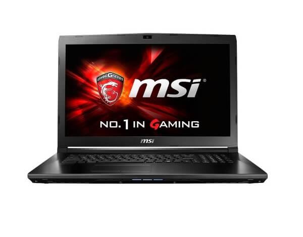 MSI GL72 - Gaming Laptop under 800 Dollars
