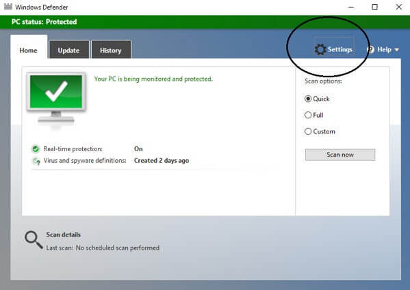 how to remove antimalware service executable
