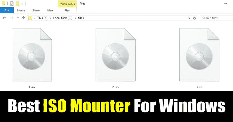 best iso mounter for windows 10